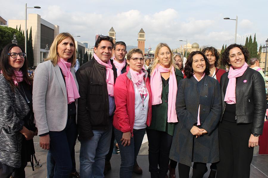 trobada gegantera càncer de mama